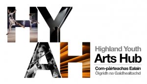 Highland Youth Arts Hub Logo